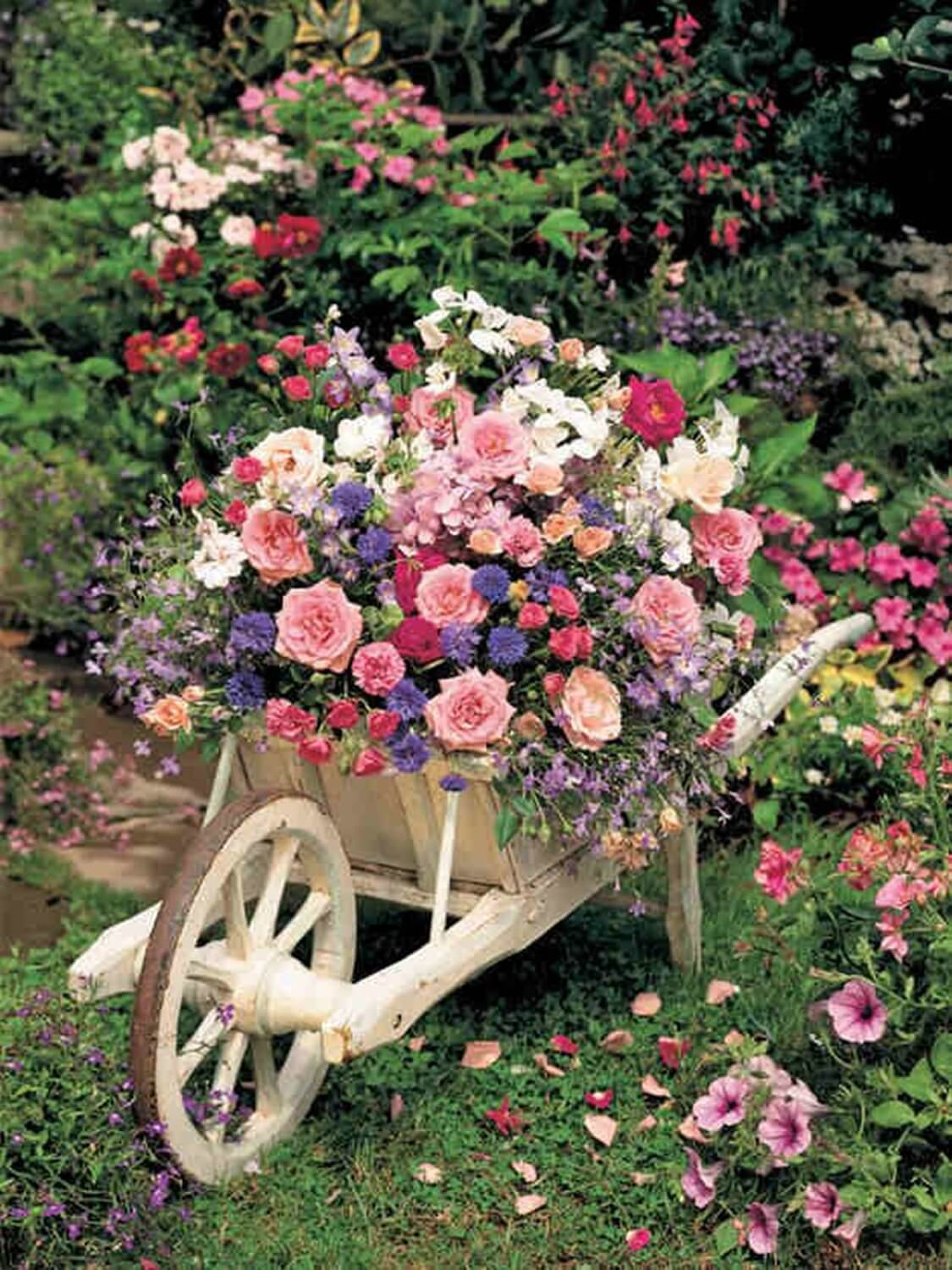 Vintage Garden Decoration Ideas